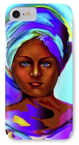 Yemaya -mother Of The Orishas IPhone Case by Carmen Cordova