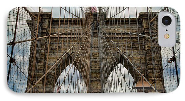 Yesterday Today  And Tomorrow - Brooklyn Bridge IPhone Case