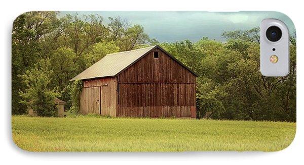Yesterday's Barn IPhone Case by Kim Hojnacki