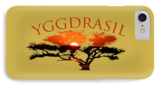 Yggdrasil- The World Tree IPhone Case
