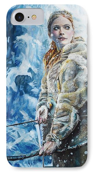 Ygritte The Wilding IPhone Case