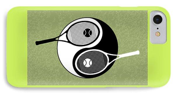 Yin Yang Tennis IPhone 7 Case by Carlos Vieira