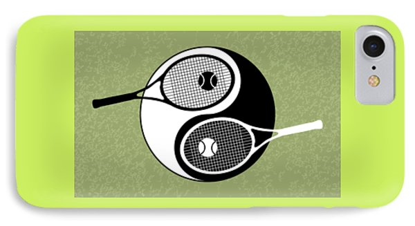 Yin Yang Tennis IPhone 7 Case by Carlos Vieira
