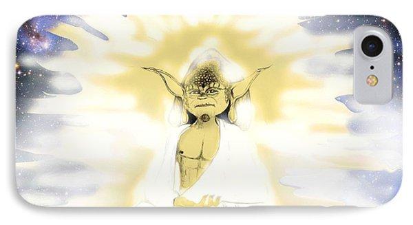 Yoda Budda IPhone Case