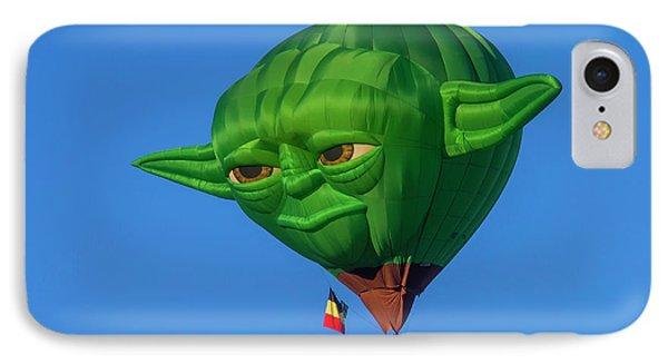 Yoda Hot Air Balloon IPhone Case by Garry Gay