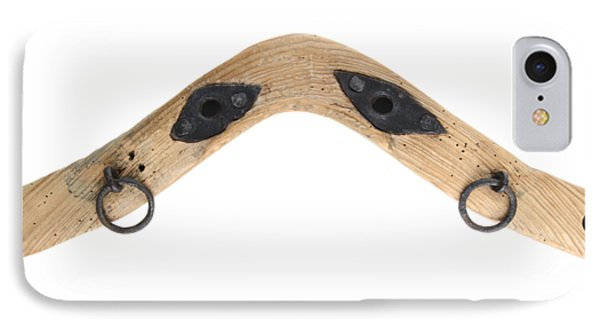 IPhone Case featuring the photograph Yoke - Part Of Harnesses For The Draft Animals by Michal Boubin