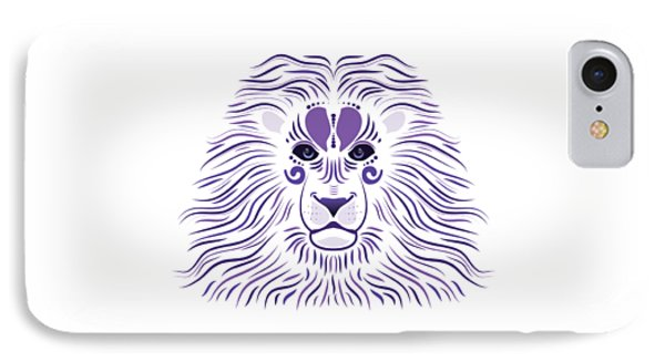 Yoni The Lion - Light IPhone Case by Serena King