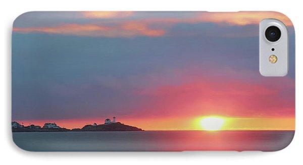 York Harbor At Dawn Phone Case by Lori Deiter