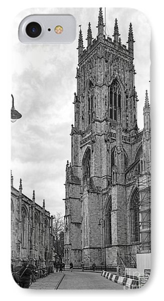 York Minster IPhone Case by David  Hollingworth