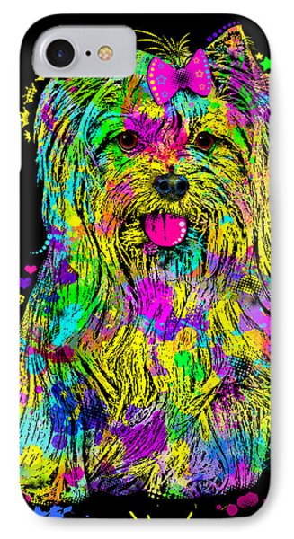 Yorkie Beauty IPhone Case