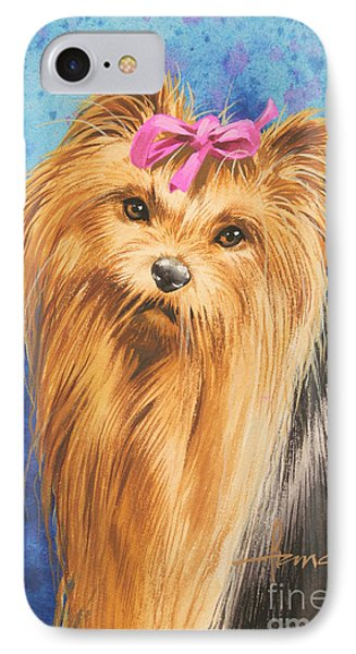 Yorkie IPhone Case by John Francis