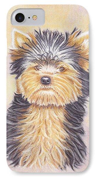 Yorkie Puppy IPhone Case