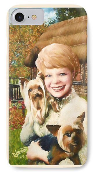 Yorkshire Lady IPhone Case by Dave Luebbert