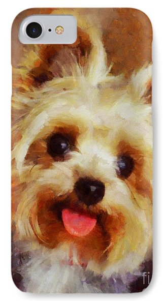 Yorkshire Terrier IPhone Case by Esoterica Art Agency
