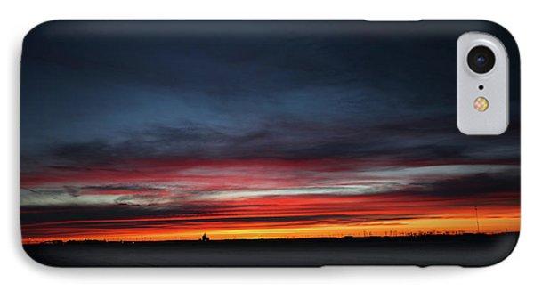 Yorkton Sunrise IPhone Case by Ryan Crouse
