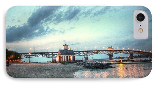 Yorktown Virginia - Coleman Bridge IPhone Case by Dave Lynch