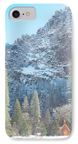 Yosemite Chapel IPhone Case by Ralph Vazquez