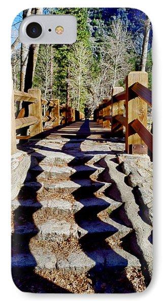 Yosemite Footbridge  IPhone Case