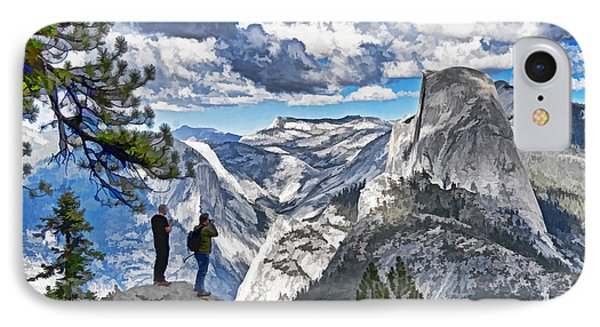 Yosemite Overlook Phone Case by Dennis Cox WorldViews