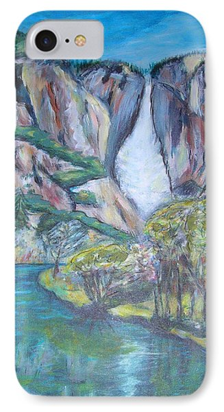 Yosemite Reflections Phone Case by Carolyn Donnell