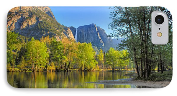 IPhone Case featuring the photograph Yosemite Reflections by Kim Wilson