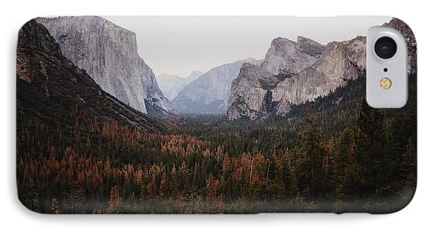 Yosemite Tunnel View IPhone Case by JR Photography