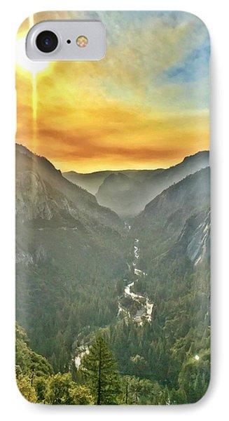 Yosemite Tunnel View IPhone Case