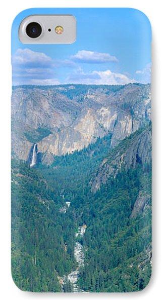 Yosemite Valley And Bridal Veil Falls IPhone Case
