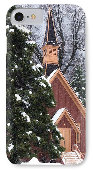 Yosemite Valley Chapel  IPhone Case