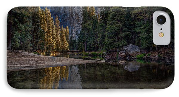 Yosemite Valley Reflections 1 IPhone Case