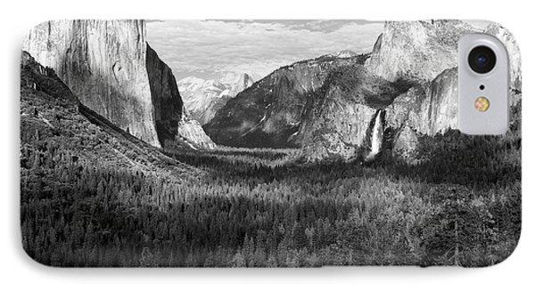 Yosemite Valley Phone Case by Sandra Bronstein
