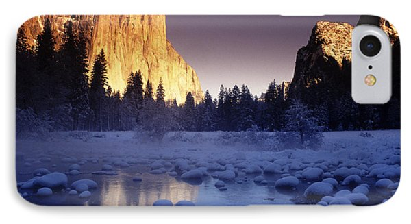Yosemite Valley Sunset Phone Case by Michael Howell - Printscapes