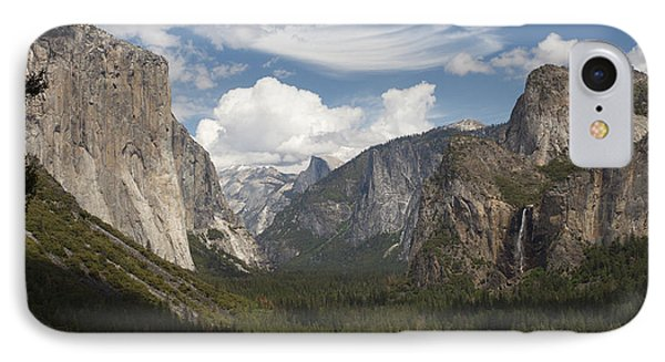 Yosemite Valley - Tunnel View IPhone Case by Harold Rau