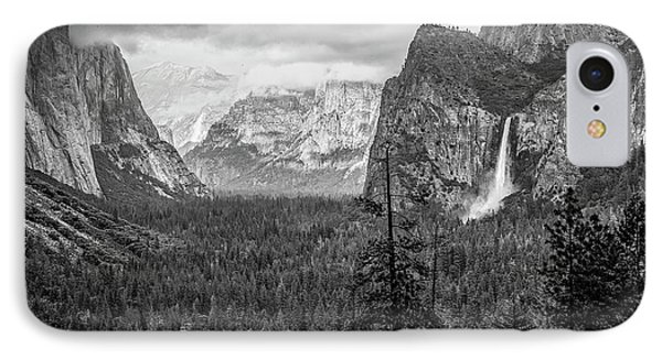 Yosemite View 38 IPhone Case by Ryan Weddle