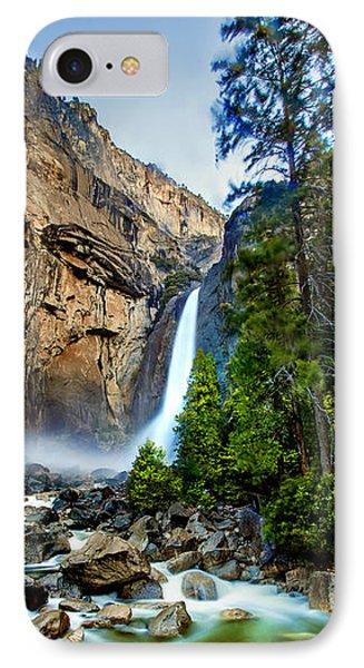 Yosemite National Park iPhone 7 Case - Yosemite Waterfall by Az Jackson