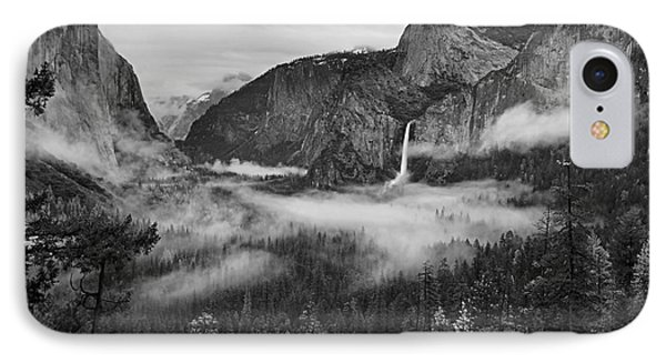 Yosemite Wawona Cloudscape IPhone Case