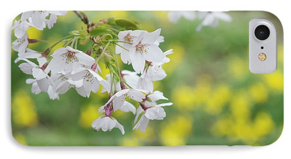 Yoshino Cherry Tree Blossom IPhone Case by Tim Gainey