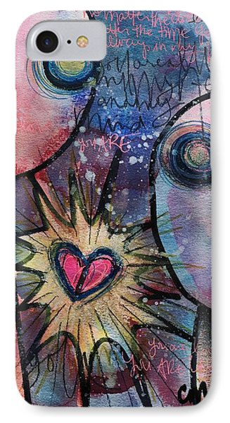 You Are Always In My Heart  Phone Case by Laurie Maves ART