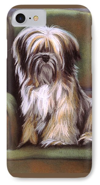 You Are In My Spot Again IPhone Case by Barbara Keith