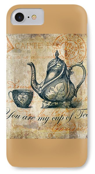 You Are My Cup Of Tea IPhone Case by Brandi Fitzgerald