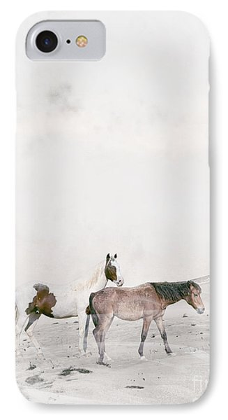IPhone Case featuring the painting You Are Not Alone by Bri B
