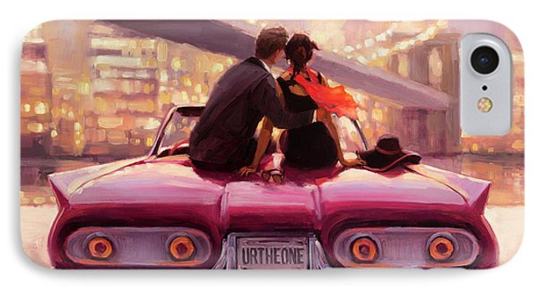 Empire State Building iPhone 7 Case - You Are The One by Steve Henderson