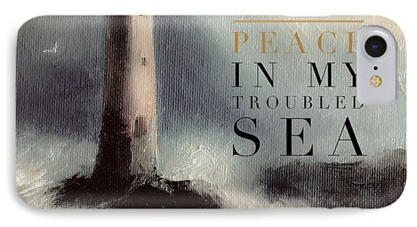 You Are The Peace In My Troubled Sea Lighthouse IPhone Case