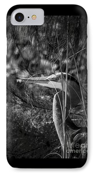 You Can't See Me-bw IPhone Case