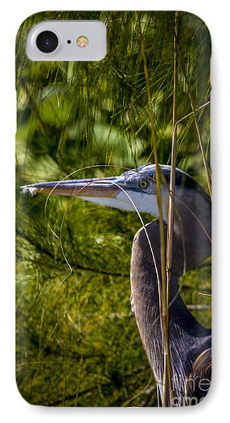 Egret iPhone 7 Case - You Can't See Me by Marvin Spates