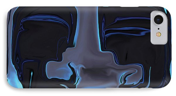 IPhone Case featuring the digital art You N Me by Rabi Khan