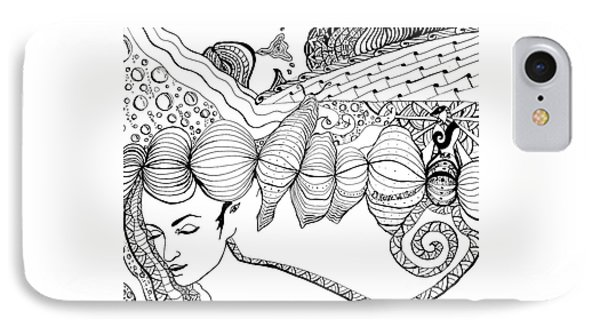 You Were In My Dream IPhone Case by D Renee Wilson