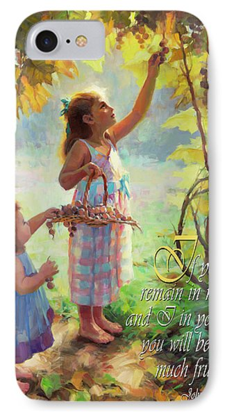 You Will Bear Much Fruit IPhone Case by Steve Henderson