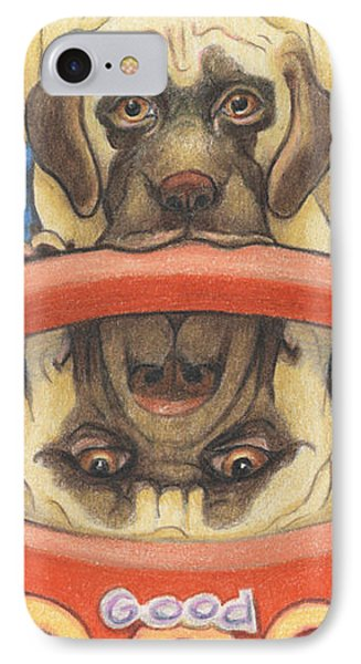 Youll Be A Big Boy Soon Phone Case by Amy S Turner