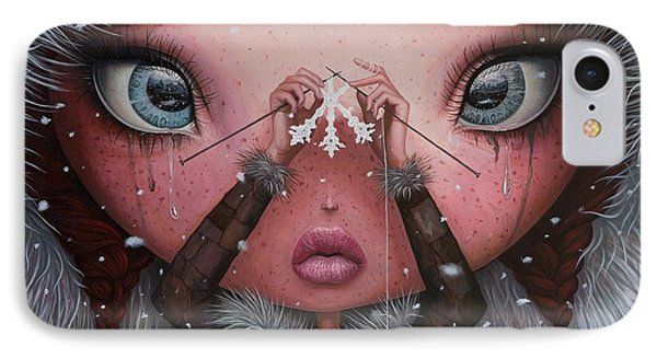 You'll Never Melt On Me Again IPhone Case by Adrian Borda